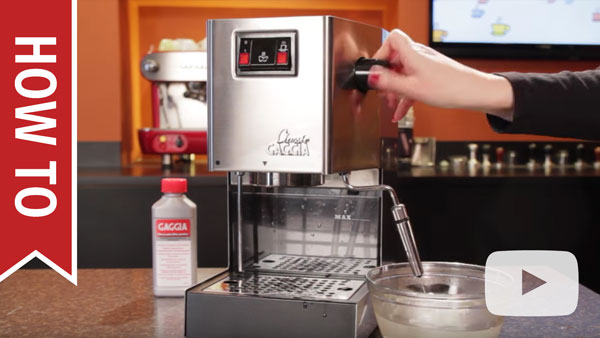 Gaggia Classiccleaning And Maintenance Whole Latte Love
