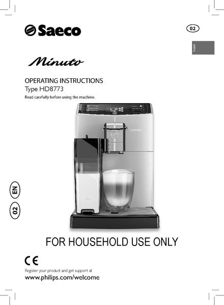 File:MINUTO CARAFE Machine Manual.pdf - Whole Latte Love Support ...