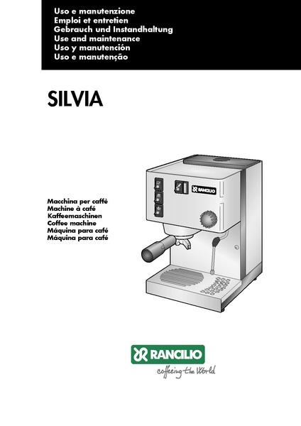 File:SILVIA V3 Machine Manual.pdf - Whole Latte Love Support Library