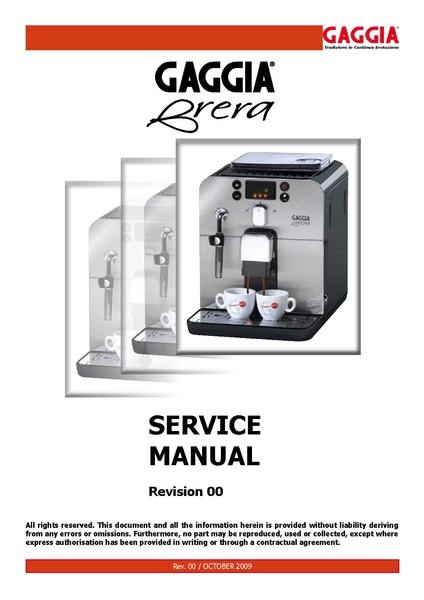 File:BRERA Service Manual.pdf - Whole Latte Love Support Library