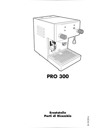 Profitec Pro 300diagrams And Manuals