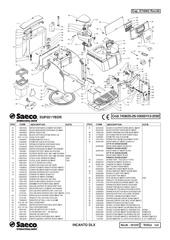 File SAECO INCANTO DELUXE Parts    Diagram   pdf  Whole Latte