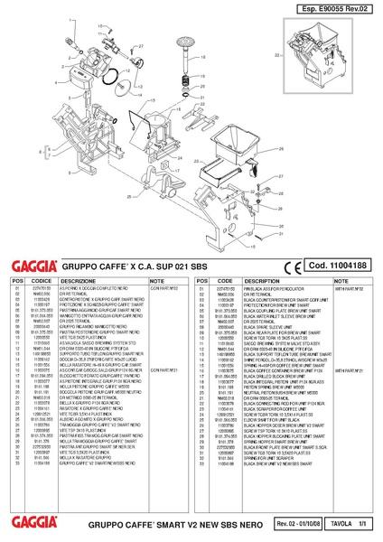 File Titanium Plus Brew Unit Parts Diagram Pdf