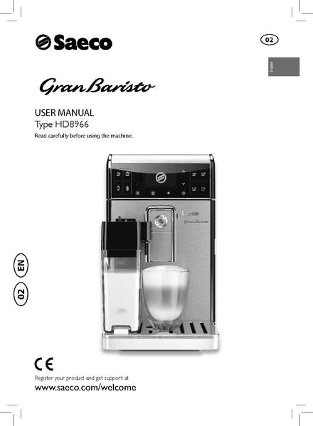 File:GRAN BARISTO CLASS Machine Manual.pdf - Whole Latte Love ...