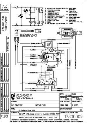 repair gaggia classic whole latte love support library rh wiki wholelattelove com Gaggia Classic Parts Diagram Gaggia Classic Manual PDF