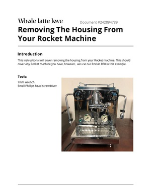 Removing The Housing From Your Rocket Machine.pdf
