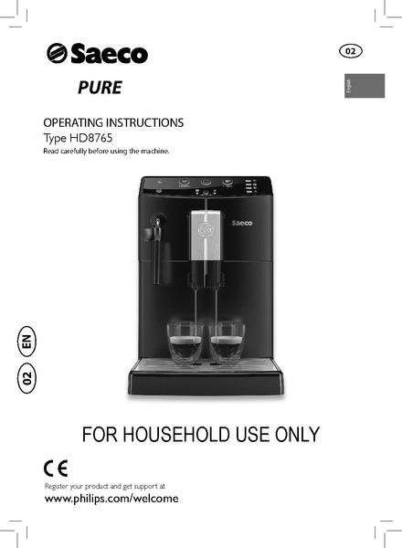 File:MINUTO PURE Machine Manual.pdf - Whole Latte Love Support Library