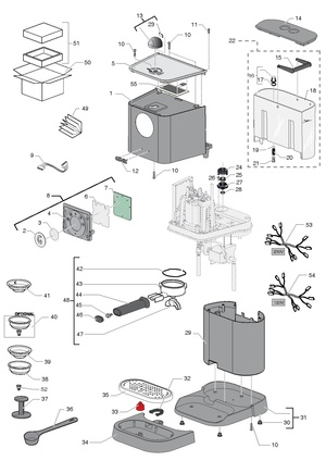 Gaggia new baby06 twin v230 1 service manual download, schematics.