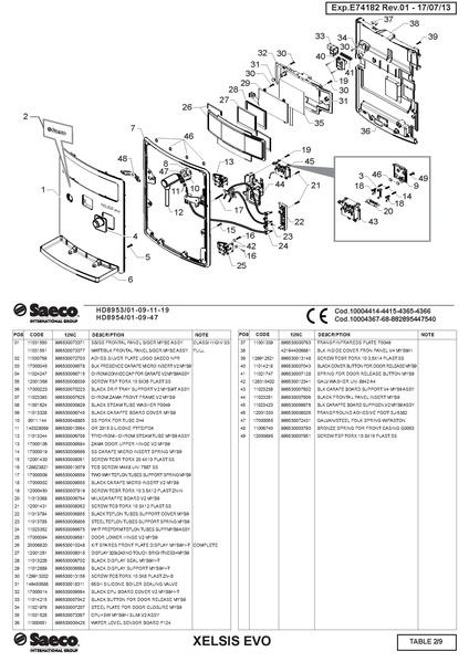 File Xelsis Evo Parts Diagram Pdf